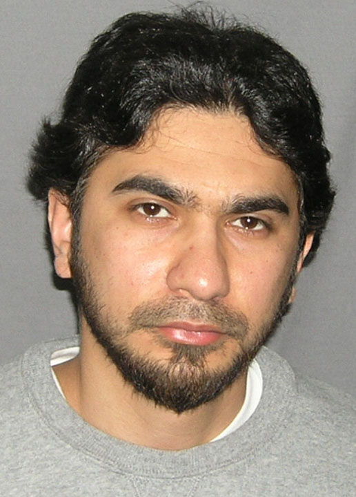 Faisal Shahzad, in a photo originally released by the U.S. Marshal's Service on May 19, 2010.