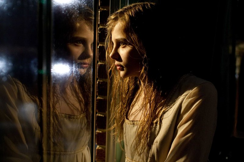 """Chloe Moretz is earning the best reviews of her young career for """"Let Me In,"""" in which she plays a 300-year-old vampire. """"I love how crazy and fake they all are,"""" she says of vampire films."""