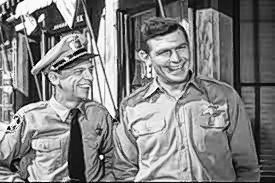 "Don Knotts, left, and Andy Griffith starred in ""The Andy Griffith Show."""