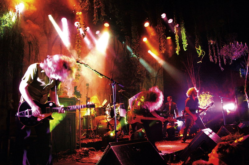 Courtesy photo My Morning Jacket will play its sold-out show at the State before heading to New York for a five-night, five-performance gig at Terminal 5.