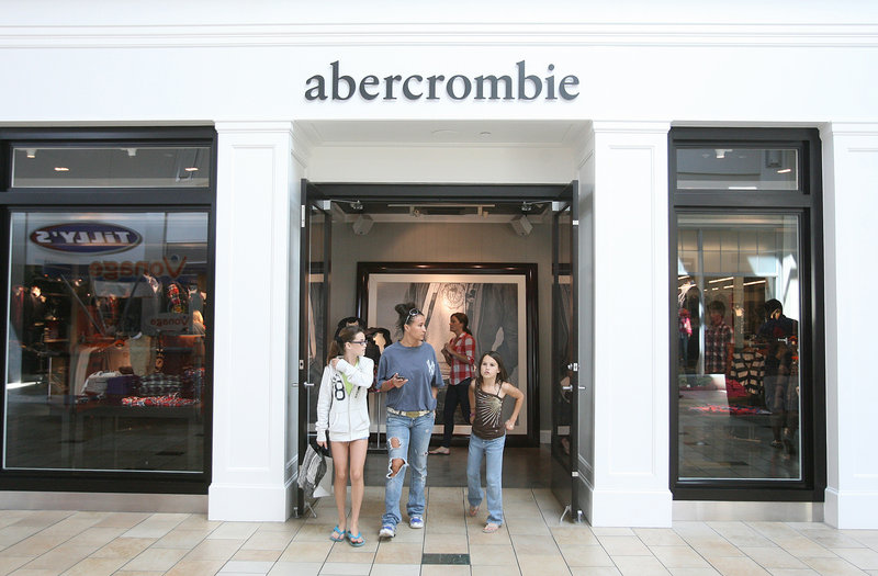 Abercrombie & Fitch looks to rebound after sales of younger kids' clothes declined through much of the economic downturn.