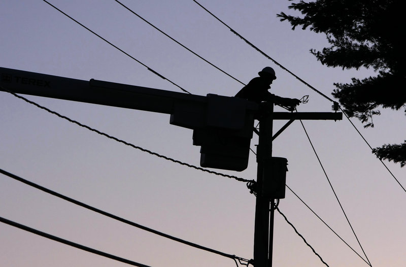 The price of electricity in Maine is closely tied to the price of natural gas, which is used to generate more than half of the state's power. When gas prices rise, electricity prices follow.