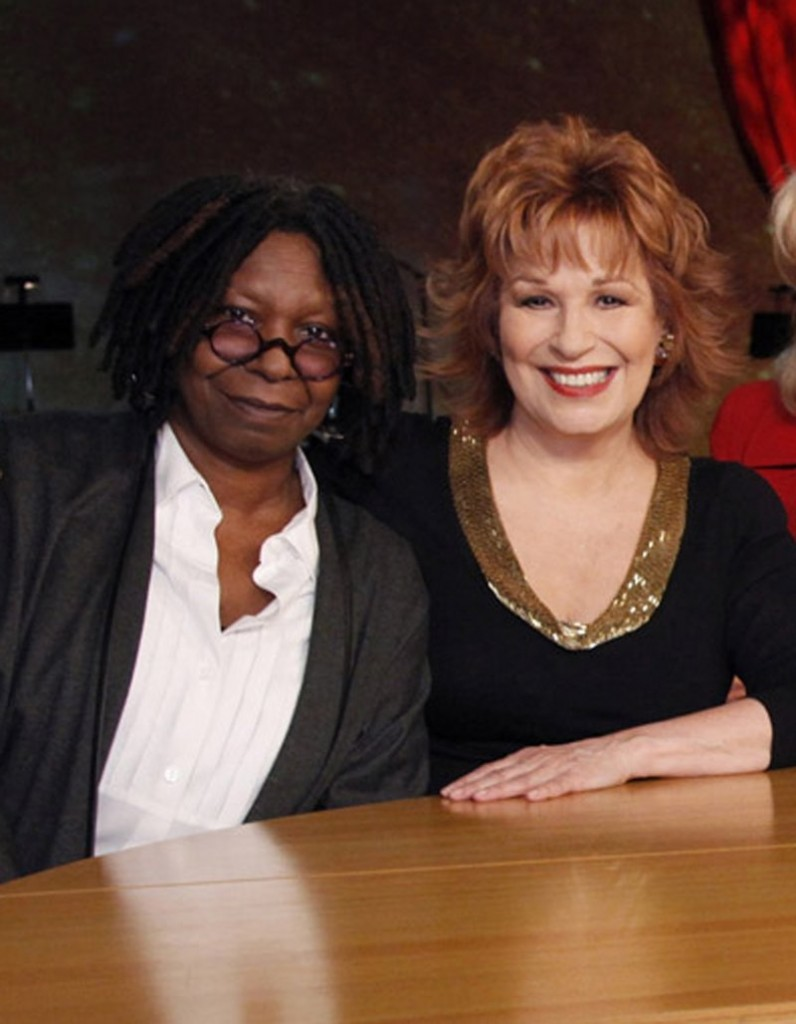 """Co-hosts Whoopi Goldberg, left, and Joy Behar walked off the stage of """"The View"""" Thursday during an argument with Bill O'Reilly over the proposed Islamic center in New York."""