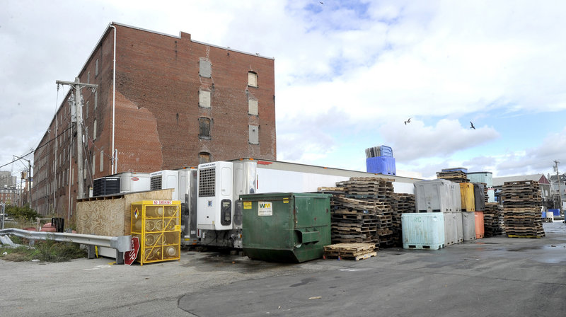 The Cumberland Cold Storage Building will soon be the home of Pierce Atwood.