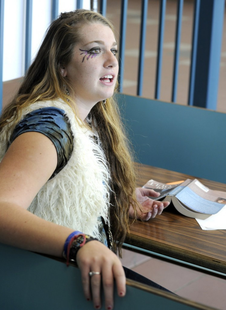Portland High senior Stephanie Rogers said most teachers require students to put away cell phones during classes and tests.