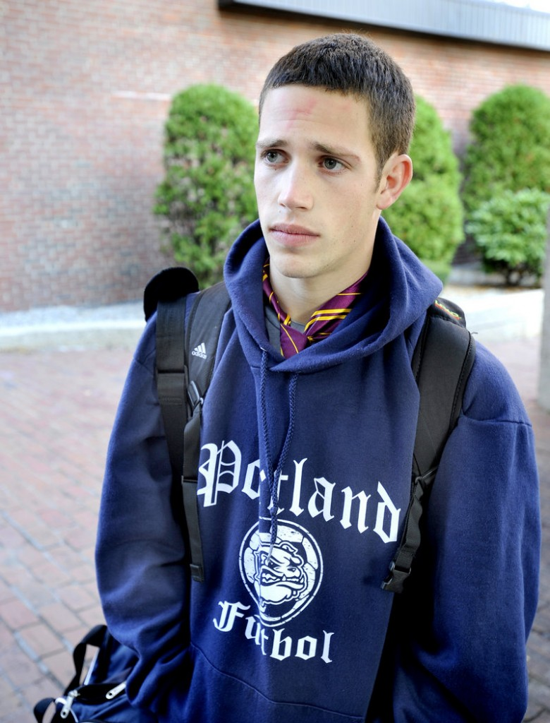 Portland High senior Lenny Schwartz said most teachers require students to put away cell phones during classes and tests.