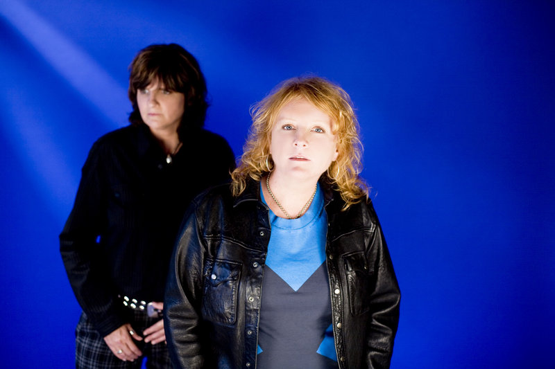 The Indigo Girls are at Merrill Auditorium in Portland on Saturday.