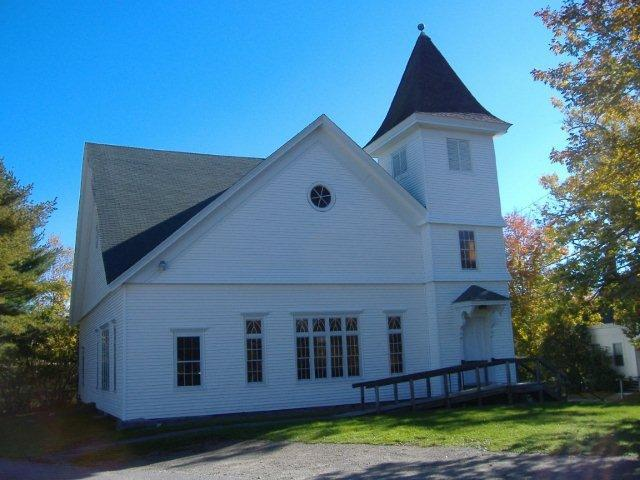 The Damariscotta United Methodist Church has a history dating back to 1840.