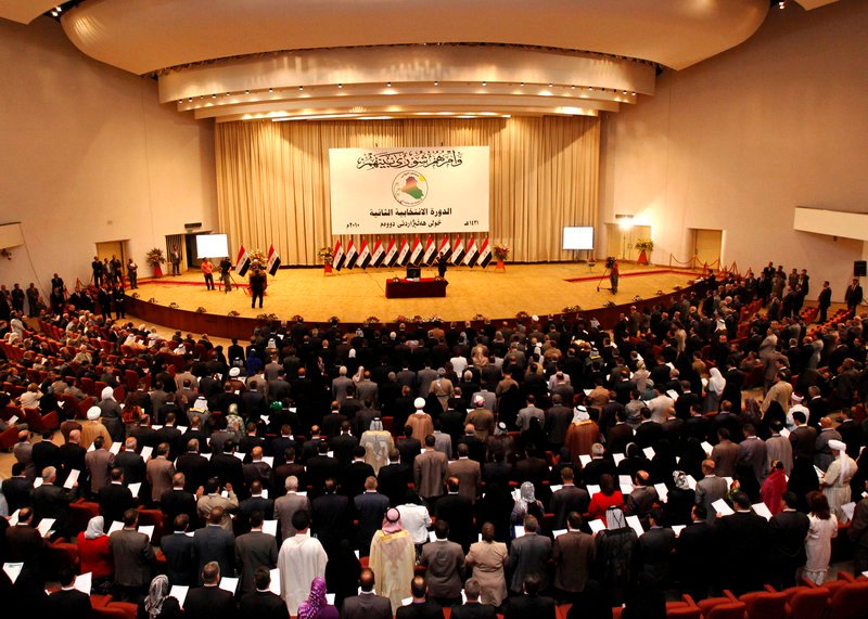 Iraq's new parliament convenes on June 14, three months after inconclusive national elections. Iraq's highest court Sunday ordered parliament back in session after a seven-month political impasse that has blocked formation of a new government.