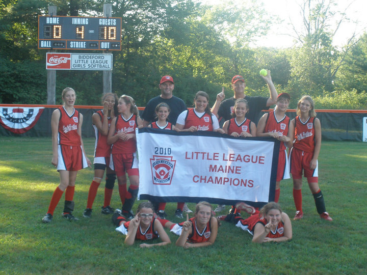 The South Portland American all-star softball team won its second straight Little League state title this summer, beating Auburn Suburban 10-0 in the championship game. South Portland was undefeated in the district and state tournaments, outscoring opponents 75-5, then went 2-2 at the East Regional.