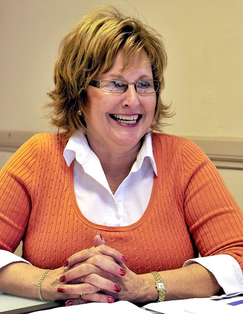 Ann LePage, wife of Republican candidate Paul LePage, works at Marden's part-time and takes care of her mother.
