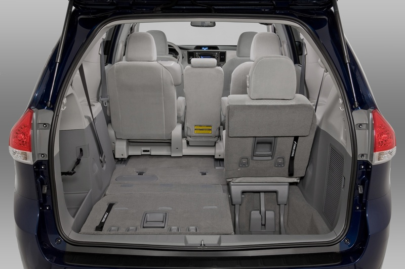 The massive amount of room – for both cargo and passengers – is one of the prime attractions of the Sienna.