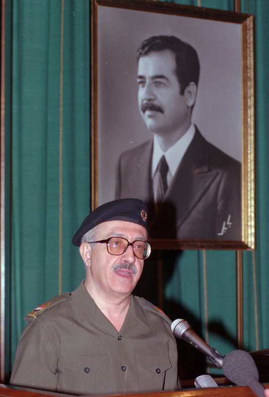 Tariq Aziz, Saddam Hussein's longtime foreign minister, was convicted Monday of terrorizing Shiite Kurds during the Iran-Iraq war and sentenced to 10 years in prison.