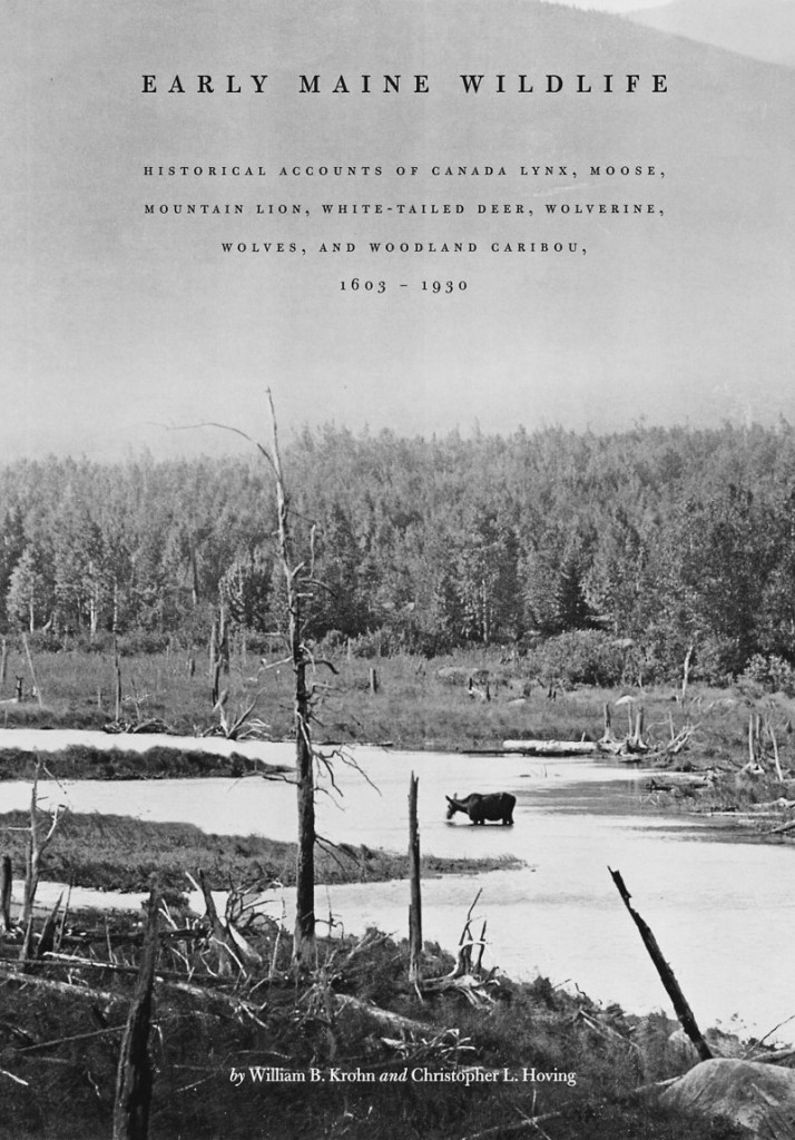 """Early Maine Wildlife"" contains historical accounts of northern animals covering 327 years."