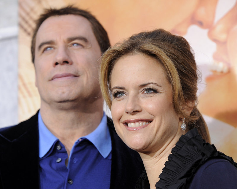 John Travolta and Kelly Preston welcomed a baby boy Tuesday in Florida.