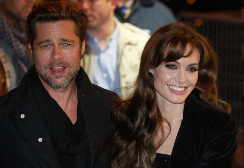 Rumors about a movie directed by actress Angelina Jolie, seen with her husband, actor Brad Pitt, have angered wartime rape victims in Bosnia.