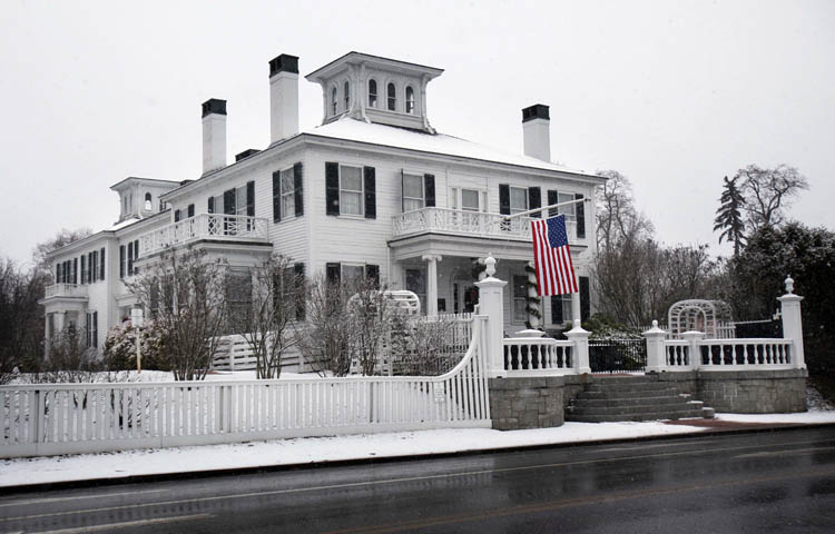 Gov.-elect Paul LePage, who will be sworn into office on Jan. 5, has started to move his personal items into the Blaine House.