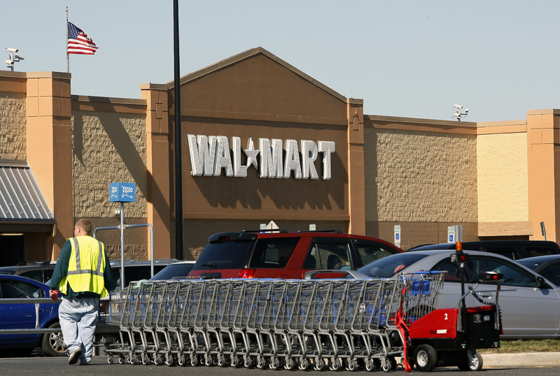 Justices will decide whether Walmart can be sued for sex bias in the largest workplace class action in U.S. history.
