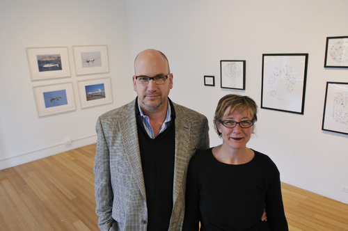 Peter and Deb Whitney of Whitney Art Works in Portland will be moving to London.