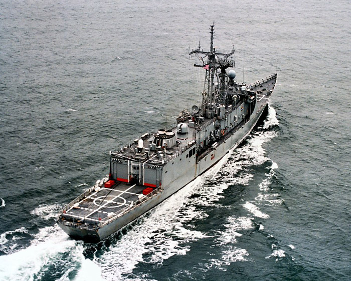 Hawes' missions have included escorting convoys, coastal operations and air and surface warfare.