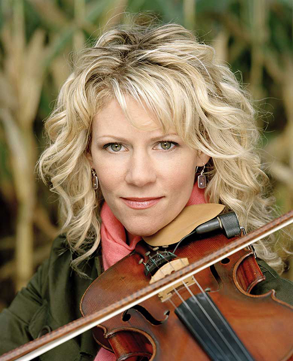 Natalie MacMaster: Tuesday in Orono, Wednesday in Rockport.