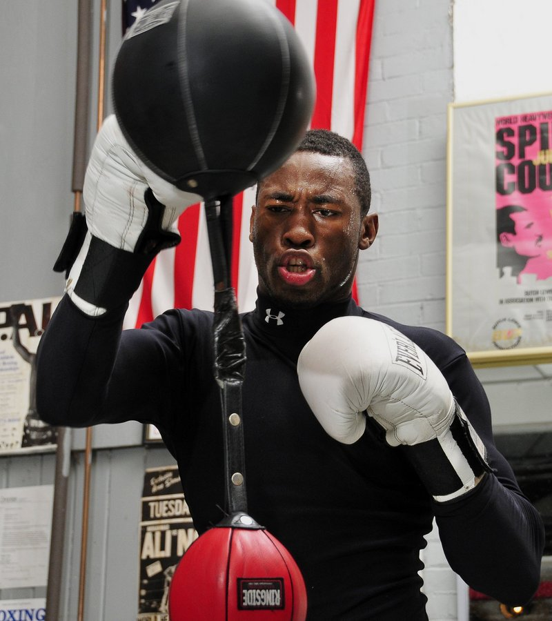 Russell Lamour, who spent 10 years with the Portland Boxing Club, is now a semi-pro fighter in Los Angeles.