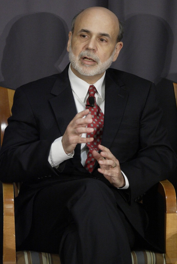Fed Chairman Ben Bernankesays long-term joblessness could keep the unemploy-ment rate high even when the economy recovers.