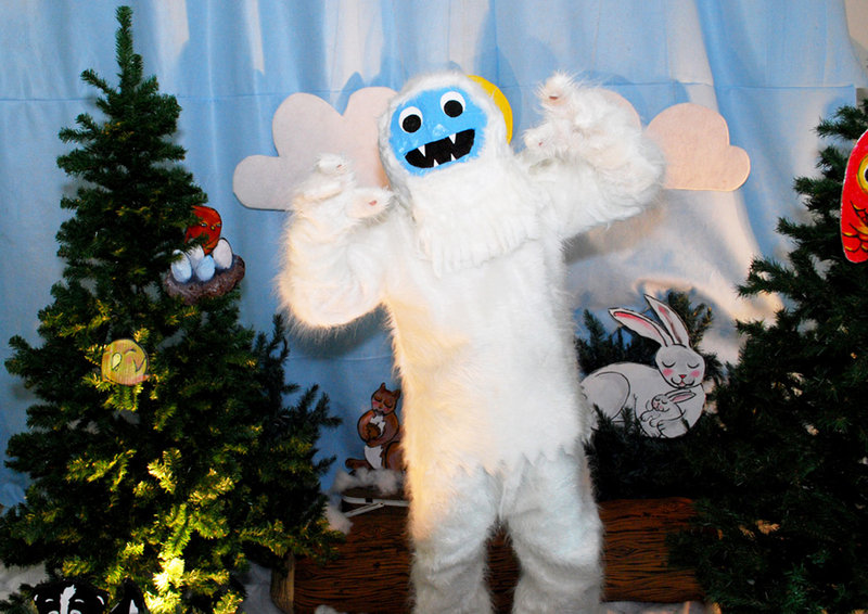 Don't miss the chance to get your photo taken with the PICNIC Yeti.