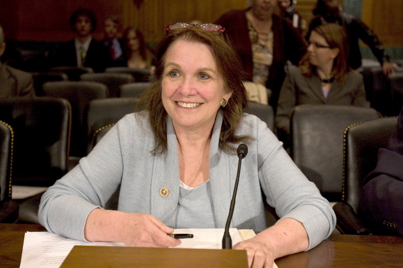 Elizabeth Edwards testifies on Capitol Hill in Washington on Oct. 20, 2009. Edwards is seriously ill and doctors say further treatment for her cancer would be unproductive.