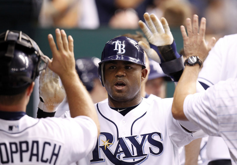 Carl Crawford, who is in the prime of his career at age 29, hit .307 last season for Tampa Bay with 19 homers and 90 RBI, and stole 47 bases. Plus he's a Gold Glove outfielder.