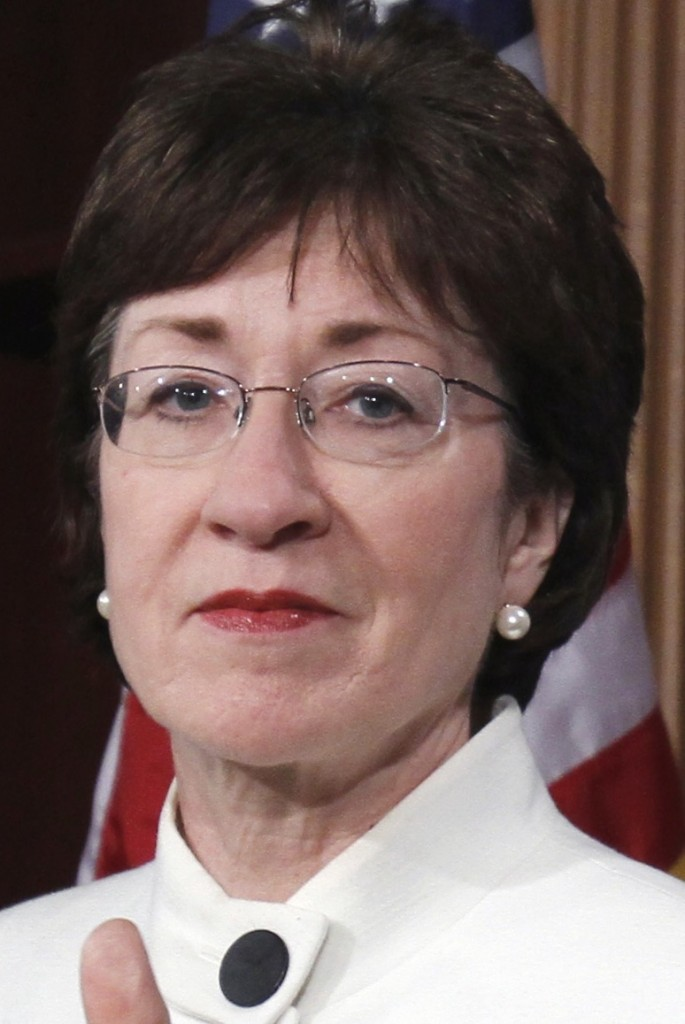 Maine's Susan Collins is among 16 senators who signed a letter telling NFL Commissioner Roger Goodell that the NFL's new domestic violence policy is simply not good enough