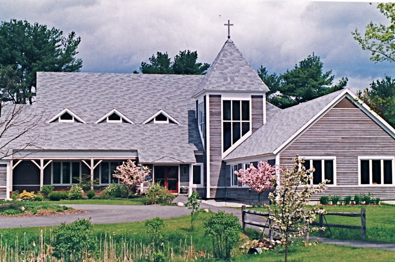 St. Bartholomew's Episcopal Church built its timber-framed home on Gilman Road in Yarmouth in 1988.