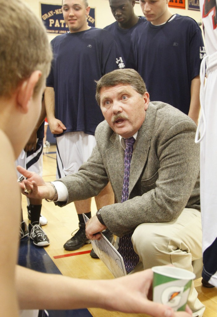 Tony DiBiase has taken the coaching skill that's led to state titles at three schools to Gray-New Gloucester.