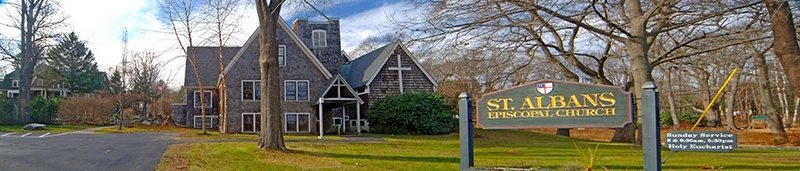 St. Alban's Episcopal Church began life as a mission church and moved to its current location in 1956.