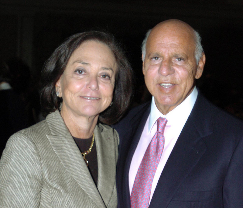 Barbara Picower, shown in 2005 with her husband, Jeffry, will return $7.2 billion that he made through his association with disgraced financier Bernard Madoff.