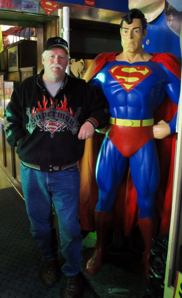 Jim Hambrick, owner of Metropolis' Superman Museum, says most of the town backs the locked-out workers.