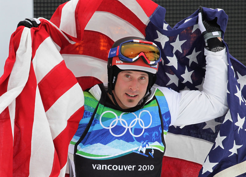 Seth Wescott of Farmington made not just Maine proud but the entire nation as well during the 2010 Winter Olympics at Vancouver, capturing the gold medal for a second time in snowboard cross.