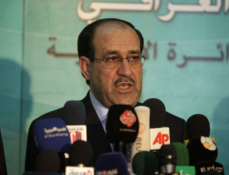 Iraqi Prime Minister Nouri al-Maliki's new government solidifies the grip that Shiites hold on political power.