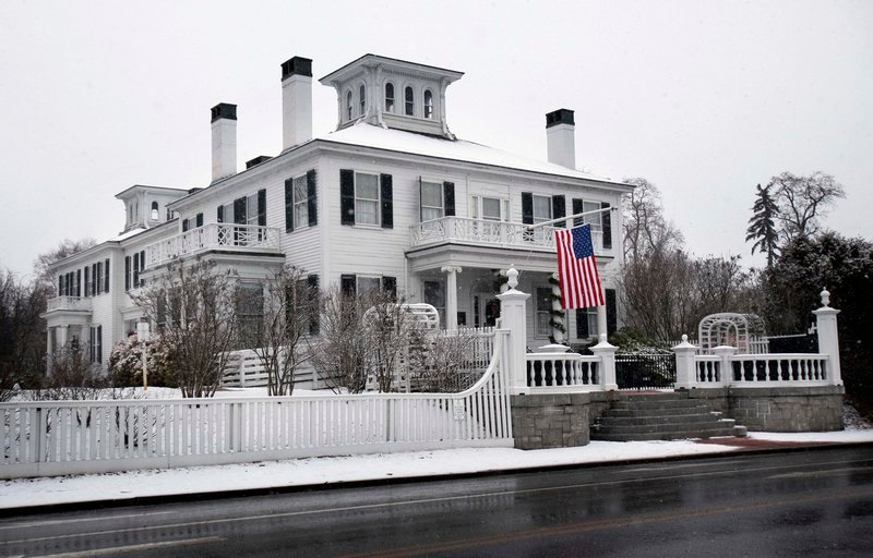 Gov.-elect Paul LePage, who will be sworn into office on Jan. 5, has started moving personal items into the Blaine House, the governor's residence.