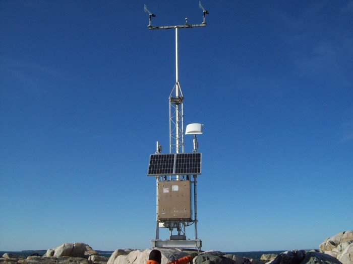 Matinicus Rock weather station.