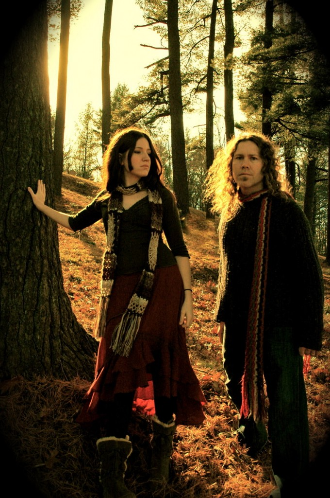 Shanti and Buck Curran are Arborea. After touring the U.S. in 2010, they will release their new album,