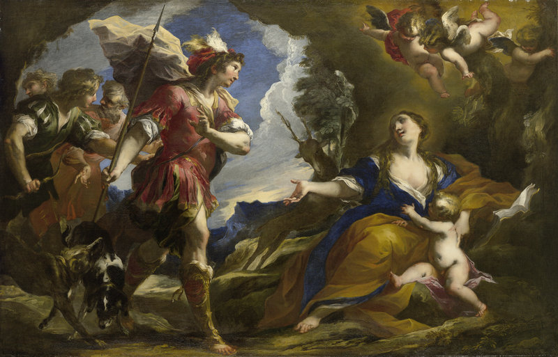 "Valerio Castello's ""The Legend of Saint Genevieve of Brabant,"" circa 1652."