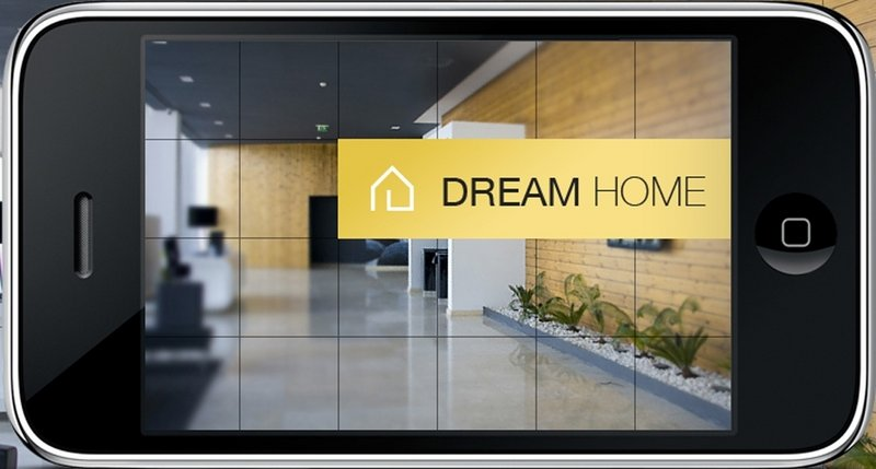 The Dream Home app allows users to search thousands of photos sorted by style, room and color.