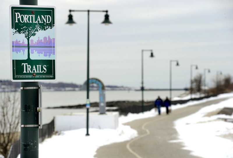 The Eastern Prom Trail is one of the city's most popular.