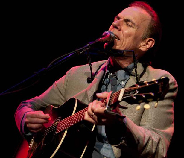 John Hiatt, above, and Lyle Lovett, below, play The Wilbur Theatre in Boston as their tour opened on Thursday. The two shared the stage at Portland's State Theatre on Friday, trading stories, jokes and a wide mix of songs.