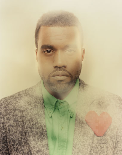 Andreas Konrath's photograph of Kanye West.