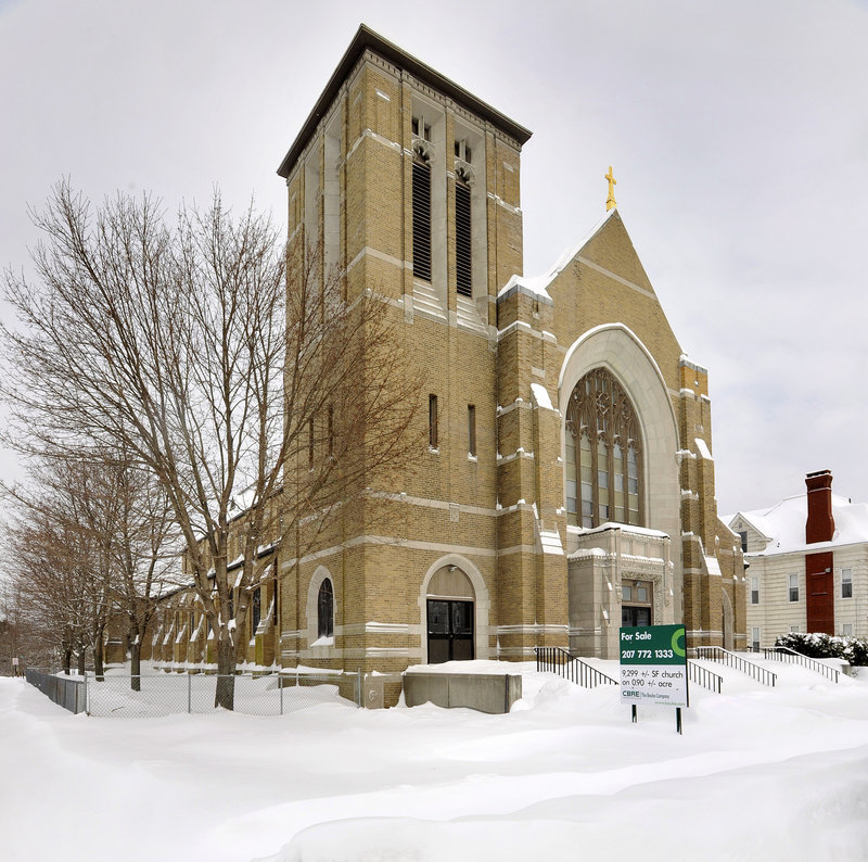 St. Mary of the Assumption Church in Biddeford is for sale.