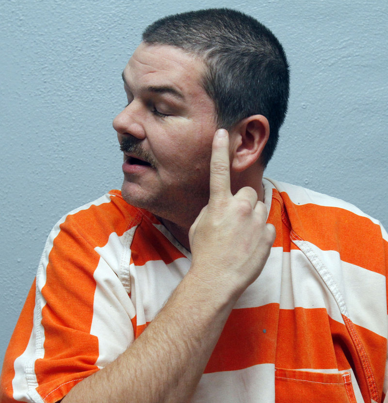 Mississippi jail inmate Neil Brown describes self-inflicted injuries he incurred while having hallucinations after ingesting a bath salt powder that is being sold at convenience stores and over the Internet.