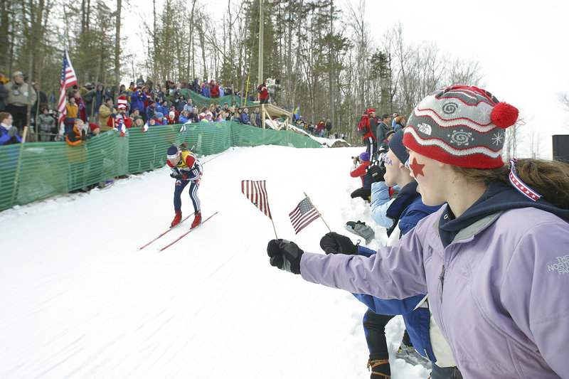 An event in the biathlon World Cup draws fans from around the world, cheering the competitors from their country. Americans will have plenty of support from Maine fans.