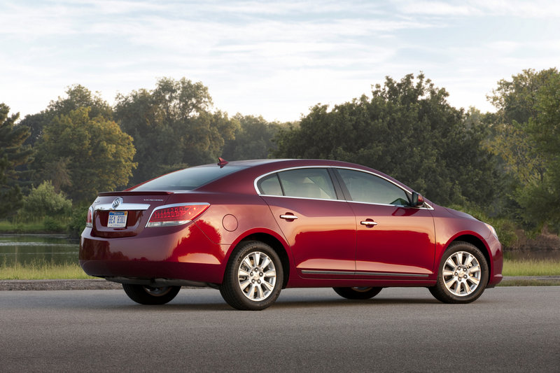 Courtesy General Motors General Motors hit China early with its Buick models. The 2011 La Crosse is shown above.